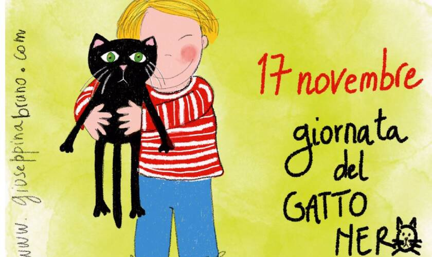 17 novembre, giornata del Gatto Nero